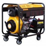 Stager YDE6500E3 Generator open frame 5.5kW, trifazat, diesel, pornire la cheie