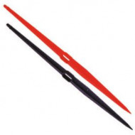 Suport 40 cm 8 mm rosu irigatii din plastic de calitate superioara, Palaplast