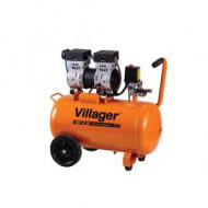 Compresor aer VAT 50 LS / 50 l / 7 bar / 1 CP, Villager