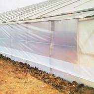 Folie pereti solar latime 2.5m/100mic/(pret pe ml), polietilena de calitate superioara, Vatan Plastik