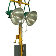 Kipor KLJ 400-4 turn de iluminat 4x400W, halogen, telescopic