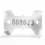 Placute de marcare Signumat Typ 01 WG - WE