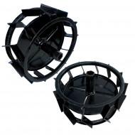 ProGARDEN set roti metalice 300mm, manicot sudat, hexagon 23mm