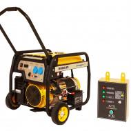 Stager FD 10000E+ATS generator open-frame 8kW, monofazat, benzina, automatizare