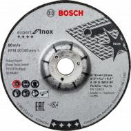 Bosch Set 2 discuri şlefuire Expert Inox, 76x4x10mm pentru GWS 12V-76