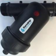 """FILTRU PLASTIC 1 1/4"""" CU SITA 120 MESH irigatii din plastic de calitate superioara, Agrodrip & Eurodrip Irigatii"""