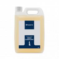 Solutie de curatat vehiculul si ceara Husqvarna - 2,5 litri
