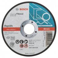 Bosch Disc de tăiere drept Expert for Metal - Rapido, 115x1mm