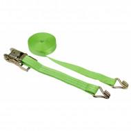 Chinga ancorare Kerbl cu clichet 6 m × 35 mm - verde