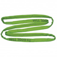 Chinga circulara Kerbl - verde