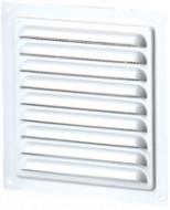 Grila de Ventilatie Metalica cu Plasa 1111 / Cod: MVM 150s; L[mm]: 150; C: Alb