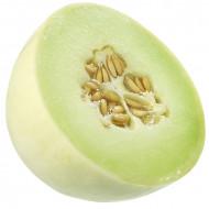 Pepene galben Honey Dew Green (1 kg), seminte de pepene galben rotund, crem-galbui-verzui, neted, Agrosem