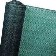 Plasa umbrire verde HDPE UV 35%, latime 1,5 m, lungime 10 m