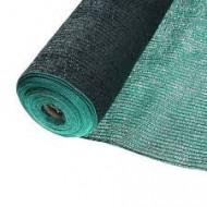Plasa umbrire verde HDPE UV 80%, latime 1,5 m, lungime 10 m