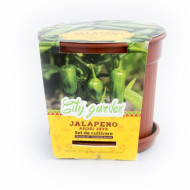 Set de cultivare - Ardei iute Mexican Jalapeno, Colectia City Garden