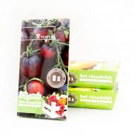 Set rasadnita medie - Tomate negre, Colectia City Garden