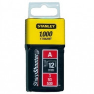 """Stanley 1-TRA208T Capse standard 12 mm / 1/2"""" 1000 buc. tip a 5/53/530"""