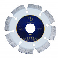 Tudee 125x22.2mm, Disc diamantat debitare beton dur