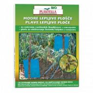 Capcane lipicioase albastre Bio Plantella - set 10 placi.