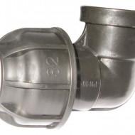 "Cot compresie FI 25x3/4"" irigatii din plastic de calitate superioara, Palaplast"