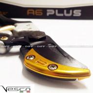 Foarfeca profesionala pentru crengi, tip nicovala (curbata) VESCO A6 Plus, Italia