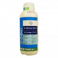 Insecticid piretrocid pentru combaterea insectelor zburătoare și târâtoare K-Othrine SC 25 (1 L), Bayer
