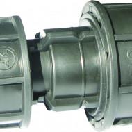 Mufa compresie Ø110 x Ø110 irigatii din plastic de calitate superioara, Palaplast