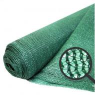Plasa umbrire verde HDPE UV 35%, latime 1,5 m, lungime 50 m