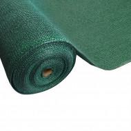 Plasa umbrire verde HDPE UV 80%, latime 1,5 m, lungime 20 m