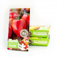 Set rasadnita medie -Tomate inima de bou, Colectia City Garden