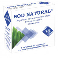 Sod Natural Extract Orz Verde (10 fiole x 5ml) unic in lume, antioxidant ajuta sistemul imunitar, hepatoprotector, Institutul Cantacuzino
