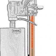 Cabel CAS 250, suport pentru CSN-10A-BN, fara reglaj unghi