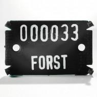 Placute de marcare Signumat Typ 02 SW - WE