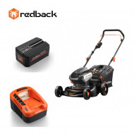 Redback Pachet E142C+EP60+EC50 Masina de tuns gazon 420mm, acumulator 40V/6Ah, incarcator 40V/5A