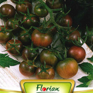 Rosii CHERRY NEGRE - 0.3 gr - Seminte de rosii Soi nedeterminat timpuriu Florian Bulgaria