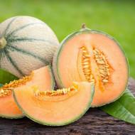 Supermarket F1(25 seminte) de pepene galben, pulpa portocalie foarte aromata, Prima Sementi