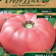 Seminte rosii Rozalux (Tomate Roze tip Gigant), 50 seminte, soi gigantic nedeterminat nou, Florian