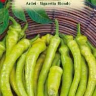 Ardei Sigaretta Biondo (1 kg), seminte de ardei bulgaresti galben deschis, foarte buni pentru murat, Agrosem
