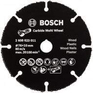 Bosch Disc de taiere carbura metalica Multi Wheel 76x1mm pentru GWS 12V-76