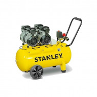 COMPRESOR SILENT 50L STANLEY 2.6 HP / 2000 W 8 BAR 270 L/MIN 68DB, Stanley