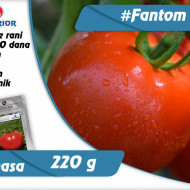 Fantom F1 – 1 gr – Seminte Tomate Nedeterminate Semitimpurii Superior Seeds Serbia