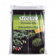 Folie microporoasa neagra pentru mulcire Stocker 50 gr (1.6 x 10 m)