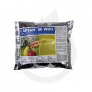 Fungicid pentru combaterea unei game variate de boli Captan 80WDG (150 grame), Arysta