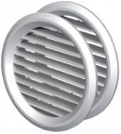 Grila de Ventilatie Rotunda din ABS cu Plasa 1111 / D[mm]: 50; C: Alb