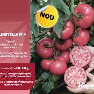 Manistella F1 (500 seminte) tomate de culoare roz, nedeterminate, rezistenta la crapare, Hazera