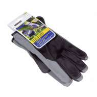 Manusi de lucru Stocker palma piele sintetica negru