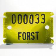 Placute de marcare Signumat Typ 02 GES - WE