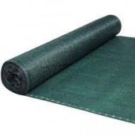 Plasa umbrire verde HDPE UV 35%, latime 2 m, lungime 20 m