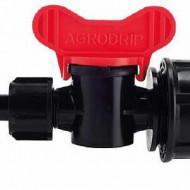ROBINET LS-17 CU GARNITURA GROMMET irigatii din plastic de calitate superioara, Agrodrip & Eurodrip Irigatii
