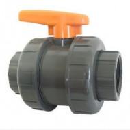 Robinet PVC lipire 40 irigatii din plastic de calitate superioara, Palaplast